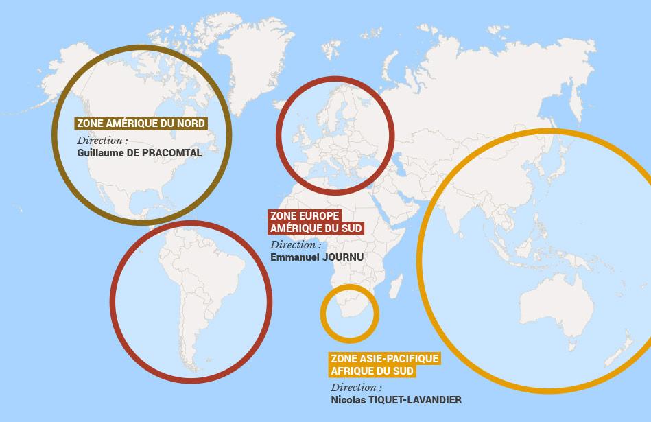 Chene Bois Cerilly : Pr?sence mondiale – Ch?ne & Cie